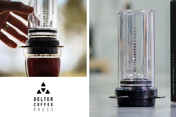 Delter Coffee Press hero
